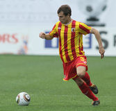 Alania's midfielder Jeldar Nizamutdinov Royalty Free Stock Photos