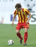 Alania's midfielder Jeldar Nizamutdinov Stock Image
