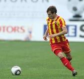 Alania's midfielder Jeldar Nizamutdinov Royalty Free Stock Images