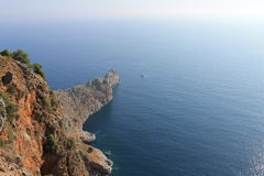 Alania, a vista da montanha Fotografia de Stock Royalty Free