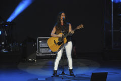 Alanis Morissette Tour 2012 Royalty Free Stock Photography