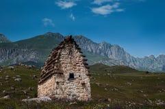 Alans严重陵墓  北奥塞梯Alania 库存图片