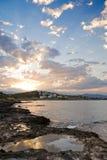 alanya śródziemnomorski wschód słońca indyk Fotografia Stock