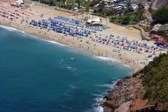 Alanya beach. Mediterranean beach in Turkey Alanya region Royalty Free Stock Photos