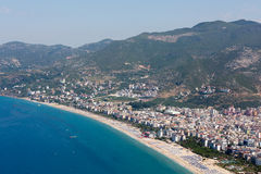 Alanya - the beach of Cleopatra Stock Images