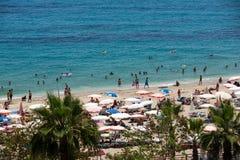 Alanya - the beach of Cleopatra Royalty Free Stock Photography