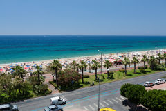 Alanya - the beach of Cleopatra Royalty Free Stock Images