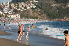 Alanya - the beach of Cleopatra Royalty Free Stock Photography