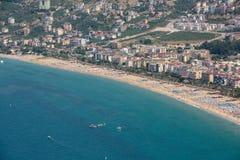 Alanya - the beach of Cleopatra Stock Photography