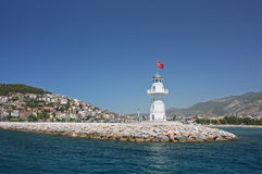 Alanya beacon Stock Photo