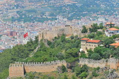 Alanya Castle Royalty Free Stock Image