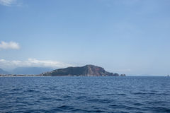 Alanya castle rock and sea Royalty Free Stock Images