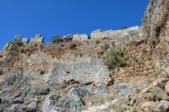 Alanya Castle Stock Image