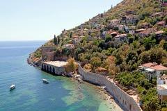 Alanya Castle. Turkey Royalty Free Stock Photos