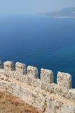 Alanya castle in Turkey Royalty Free Stock Image