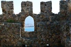 Alanya Castle Royalty Free Stock Photography