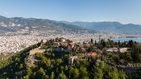 Alanya Castle View Royalty Free Stock Photo