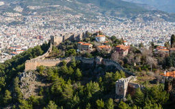 Alanya Castle View Stock Images