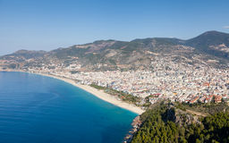 Alanya Castle View Stock Image
