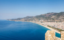 Alanya Castle View Royalty Free Stock Photography