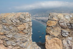 Alanya Castle Royalty Free Stock Photo