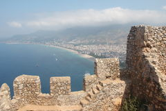 Alanya Castle Royalty Free Stock Photos
