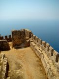 Alanya Castle. The XIII century. Turkey Stock Photography