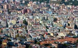 alanya cener城市房子 免版税库存图片
