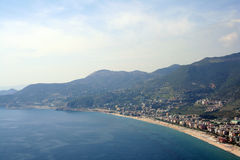 Alanya cityscape Royalty Free Stock Photo