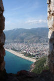 Alanya Cityscape Royalty Free Stock Images