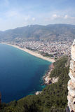 Alanya cityscape Stock Images