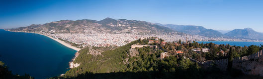 Alanya cityscape. Turkey Stock Photos