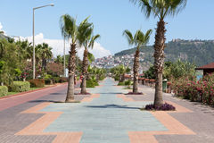Alanya - Cleopatra beach. Royalty Free Stock Photography