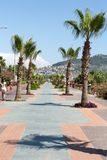 Alanya - Cleopatra beach. Royalty Free Stock Photos