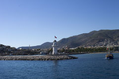 Alanya_Cleopatra_port Stock Photography