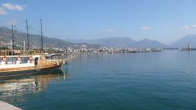 Alanya coast. Antalya alanya coast Stock Photos