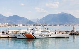 Alanya Coastguard arkivbilder