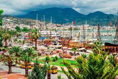 Alanya Cruise Port Stock Photo