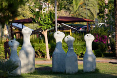 Alanya -  Damlatas  park near Clepatra beach in the late afternoon Stock Images