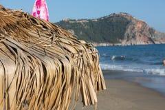 Alanya - der Strand von Kleopatra Lizenzfreies Stockbild