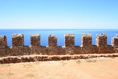 Alanya fortress, Turkey Royalty Free Stock Photo