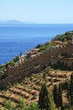 Alanya fortress wall Royalty Free Stock Photo