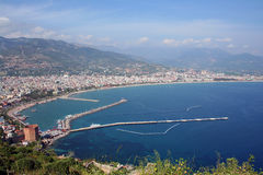 Alanya harbour stock images