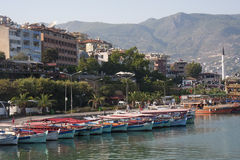 Alanya harbour 2 Royalty Free Stock Image