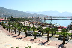 Alanya harbour Stock Image