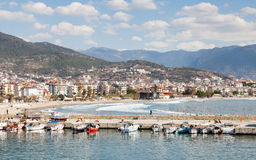 Alanya Harbour Royalty Free Stock Photography