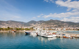 Alanya Harbour Stock Photography