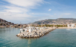 Alanya Harbour Royalty Free Stock Photos