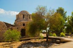 Alanya Kalesi. Brick ancient castle wall. Alanya, Turkey. Wonderful country. Ruins of the fortress of Alanya.Brick wall. Castle in. Turkey stock image
