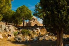 Alanya Kalesi. Brick ancient castle wall. Alanya, Turkey. Wonderful country. Ruins of the fortress of Alanya.Brick wall. Castle in. Turkey stock images